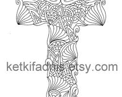 coloring letter t etsy
