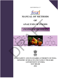 pesticide residue manual detection limit verification and