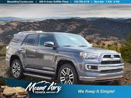 toyota 4runner limited 4wd 2017 toyota 4runner limited 4wd sport utility in mount airy