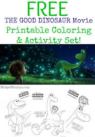 good dinosaur movie printable coloring u0026 activity sheets