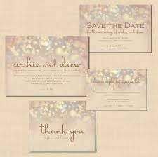 wedding invitations and response cards chagne sparkles text editable save the date wedding