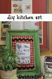 10 easy diy kitchen craft decor ideas debbiedoos art work with mod