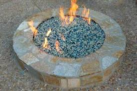 Firepit Glass Pit Installation