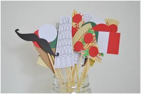 Bachelorette Party Decorations Paper Crafts Hand Made Party Decorations Italian Themed