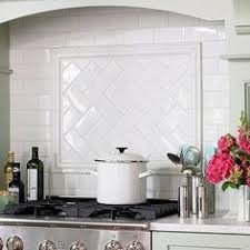 Subway Tile Backsplash Kitchen by Kitchen Idea Of The Day Creamy Subway Tile Backsplash Behind The