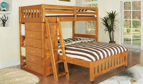 Bedroom  Bunk Beds With Stairs Twin Over Full Compact Concrete - Large bunk beds