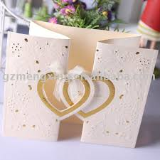 marriage invitation sle handmade wedding cards sle style by modernstork