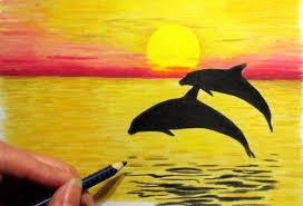easiest pencil colours landscape colour pencil drawing landscape