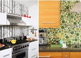 inexpensive backsplash for kitchen inspired whims creative and inexpensive backsplash ideas