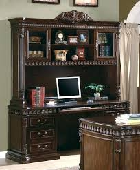 Office Depot Computer Desks Office Desk With Hutch Home Office Desk With Hutch Image Of White