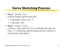chapter 5 graphing and optimization section 2 second derivative