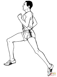 average distance running coloring page free printable coloring pages