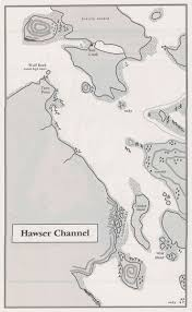 Channel Islands Map Maps Robin Hobb