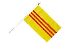 Viet Nam Flag Vietnam Old South Vietnam Hand Waving Flag 12 X 18 Inch Best