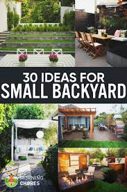 30 small backyard ideas that will your backyard look big