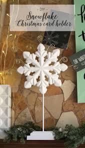 diy snowflake card holder lou