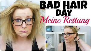 Hochsteckfrisuren Mittellange Haar Einfach by Bad Hair Day Frisur Tutorial Schnell Und Einfach