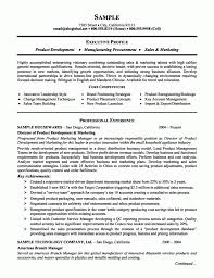 good marketing resume sample cover letter executive resumes samples free free executive