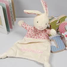 Bunny Comforter Personalised Petal Bunny Comforter Blanket By The Alphabet Gift