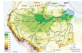 Amazon Rainforest Map Amazon Basin Students For The Living Amazon