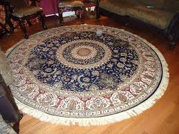 Round Rugs 8 Ft by Amazon Com Luxury Large Round Rugs Silk Traditional Area Rugs