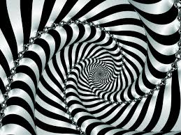 mind teasers moving optical illusion spiral surprising tease
