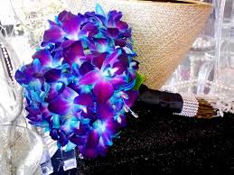 wedding flowers gallery blue orchid bouquet wedding flowers gallery