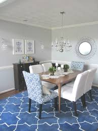 client reveal cobalt u0026 white dining room michaela noelle designs
