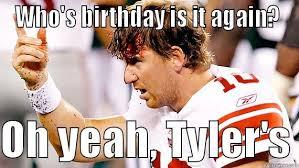 Tyler Meme - happy birthday tyler meme birthday best of the funny meme