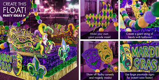 mardi gra for sale mardi gras parade float supplies party city