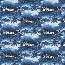 Dallas Cowboys Home Decor Dallas Cowboys Nfl Cotton