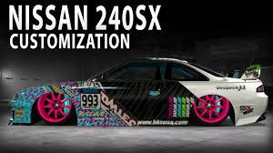 custom nissan 240sx midnight club la nissan 240sx customization youtube