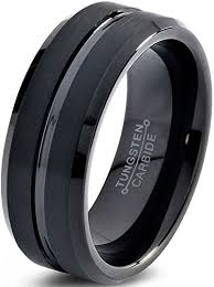 wedding rings tungsten images Charming jewelers tungsten wedding band ring 8mm for men women jpg