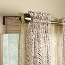 Curved Curtain Rods For Bow Windows Awesome Bay Window Double Curtain Rod Bay Window Double Curtain