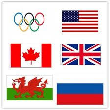 Olympic Games Decorations Rio 2016 Olympic Games Support Decoration 5 X 3 Ft World National