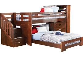 Find Bunk Beds Shop For A S Collection Lost Creek Espresso Jr Step