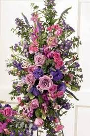 how to make flower arrangements how to make a funeral easel flower arrangement synonym