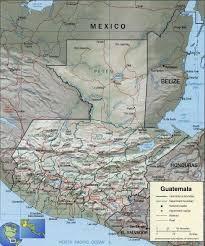 Guatemala World Map by Map Of Guatemala World