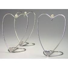 ornament stands set of 3 silver ornament hangers small