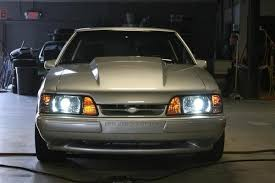 hid lights for classic cars anyone seen hid lights on a fox body mustang forums at stangnet