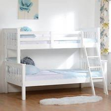 Pine Triple Bunk Beds EBay - Three sleeper bunk bed