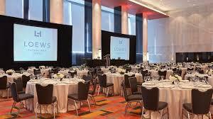 venue space in philadelphia loews philadelphia hotel