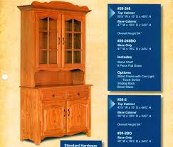 Cornwell Side Cabinet 2 Door Hutches Archives Amish Oak Furniture U0026 Mattress Store