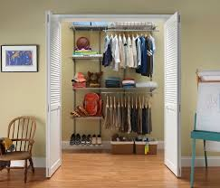 Hanging Closet Shelves by Keep Your Clothes Safely With Closet Shelving Lowes Design