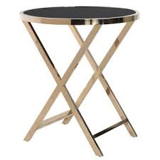 black and gold side table contemporary occasional tables console coffee end tables desks
