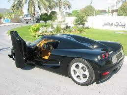 black koenigsegg koenigsegg cc black doors open 1280x960