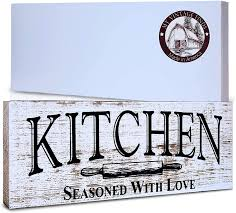 how to decorate a rustic kitchen kitchen sign rustic kitchen decor farmhouse wall decor made in america kitchen sign wall decor and decorations