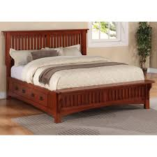 King Size Headboard And Footboard Mission Style King Size Headboard Plans Woodworking Diy