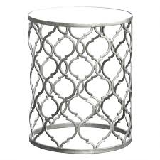silver side table uk silver metal round side table round silver side table uk coffee