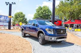 nissan trucks blue five things we learned about the nissan titan xd